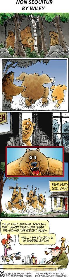 Non Sequitur Comic Strip, August 03, 2014 on GoComics.com