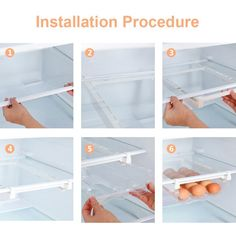 Kitchen Fruit Egg Organizer Storage Rack Box Fridge Freezer Shelf Holder Pull out Drawer Space Saver|Racks & Holders| - AliExpress Storage Rack, Storage Organization, Wall Mounted Kitchen Storage, Shelf Holders, Pull Out Drawers, Space Saver, Freezer, Egg, Shelves