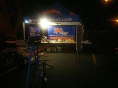Up at o' dark thirty to support the athletes at the Orange County Duathlon & Triathlon at Mission Viejo, Calif.
