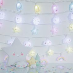 Pastel Girls Room, A Little Lovely Company, Cute Stuffed Animals, Resin Crafts, String Lights, Girl Room, School Supplies, Room Inspiration, Animals And Pets