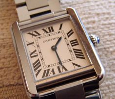 CARTIER ladies wristwatch complete in box all as shown a recent gift Listing in the Cartier,Wristwatches,Watches,Jewellery & Watches Category on eBid United Kingdom