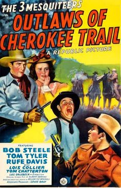 Outlaws of Cherokee Trail - Lester Orlebeck - 1941...  http://western-mood.blogspot.com/