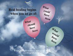 When real healing begins