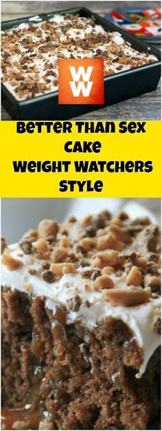 Better Than Sex Cake Points+ 4 Per Serving - weight watchers recipes