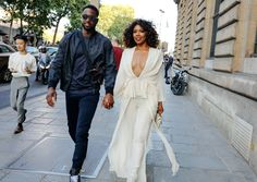 Dwyane Wade and Gabrielle Union with a M2Malletier bag