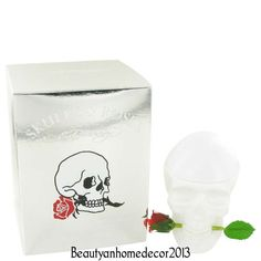 Ed Hardy Skulls & Roses by Ed Hardy 3.4 oz EDP Spray Perfume for Women NIB #EdHardy