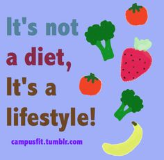 DONE WITH DIETS!  My choice....organic vegetables and fruits......whole grains....and lean sources of protein.  Cravings?  GONE!