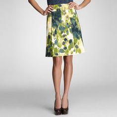 Watercolor skirt - Jones NY