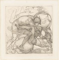 Venus appearing to Aeneas before Carthage, 1873. Edward Coley Burne-Jones (1833-1898)