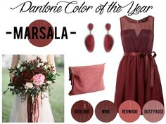 Pantone Color of the Year 2015 – Marsala Inspiration - Southern Bride & Groom