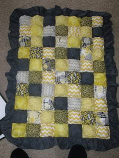 Maybe this style bubble quilt, but in our colors...