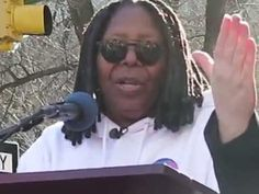 See video of Whoopi Goldberg's inspiring speech at the 'The only way we are going to make a change is to commit to change.' The march drew Whoopi Goldberg, The Only Way, Change, News