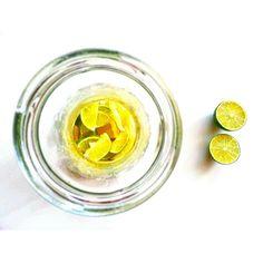 Woda limonkowo cytrynowa