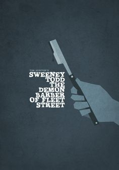 Sweeney Todd - one of the strangest, darkest things i've ever seen