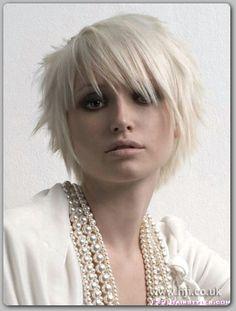 short goth hair styles