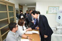 박홍률 목포시장, 제19대 대통령선거 투표