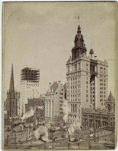 The Park Row Building, the original 'twin towers' of lower Manhattan, was criticized for its two-dimensional design but it's managed to survive into modern times.