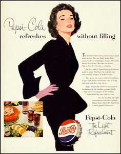 Enjoy the finer things in life, such as ... Pepsi?