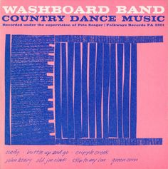 Sonny Terry - Washboard Band: Country Dance Music