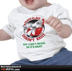 Santa Claus doesn't exist