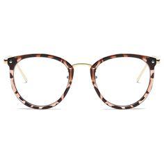 d5f01be17 Eyeglasses Eyewear Frame Fashion Black Vintage Metal Optical Frame Reading  Glasses Women Eyeglasses Frames New 2017