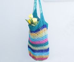 hand crochet market bag ♥