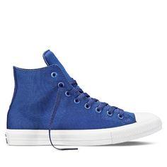 7015fe57cc8c Me gustó este producto Converse Zapatillas Chuck Taylor All Star II Hi  Azul. ¡Lo quiero!