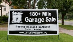 The US-12 Heritage Trail Garage Sale is an annual event that draws in Michiganders from across the state to peruse, buy, and sell all sorts of items.