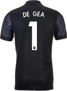 c80d36535ab 2017 18 adidas David de Gea Manchester United Authentic Away Jersey