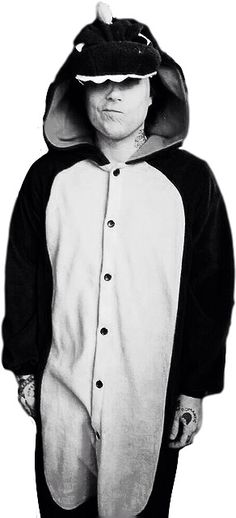 Black and white Frank Iero spam...