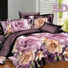 bedding set bedclothes bed set duvet cover flat sheet Home Textiles pillowcase Queen size flower horse Marilyn Monroe Romantic Bedding Sets, Purple Bedding Sets, Cheap Bedding Sets, Floral Bedding, Queen Bedding Sets, Affordable Bedding, Coral Bedroom, Bedroom Desk, King Size Bed Linen