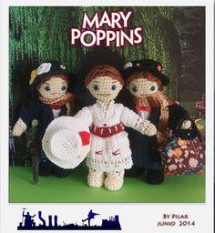 #amigurumi Mary Poppins