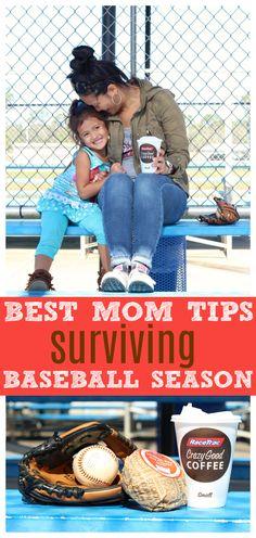 Best Tips for Surviving Baseball Season for Moms - Raising Whasians via @raisingwhasians (AD)