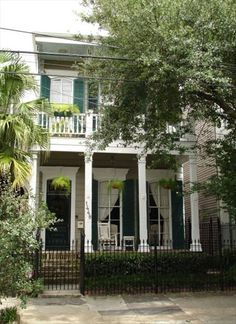 Garden District Vacation Rental - VRBO 219021 - 4 BR New Orleans House in LA, Magazine St Entire Authentic 4 Bedroom Greek Revival House