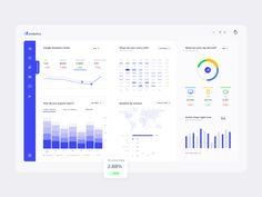 Resources, Mobile App Designs, Web Designs, UI/UX Designs, and freebies. Dashboard Design, Google Analytics Dashboard, Web Dashboard, Web Analytics, Planner Dashboard, Design Android, Ios Design, Free Design, Graphic Design