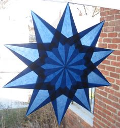blue star tutorial - fold this from beautiful kite paper