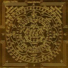 Kuber Yantra (Kubera Yantra) - Symbols of Wealth and Prosperity https://exemplore.com/misc/Creating-Wealth-The-Prosperity-Symbol  #Lawofattraction #Success
