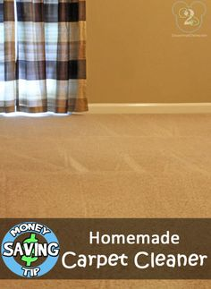 Carpet Cleaner is getting expensive! Here is a tried and true recipe for homemade carpet cleaner!