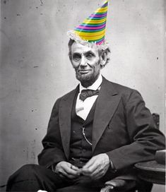 Please join us - and our colleagues at @Lincoln's Cottage - in wishing Honest Abe a happy birthday!