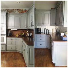 paint kitchen tile before after
