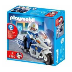 Playmobil Motorcycle Patrol PLAYMOBIL® http://www.amazon.com/dp/B001O7IKUK/ref=cm_sw_r_pi_dp_DfFQub0HVZAXH