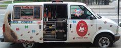 J'ouvre la porte et c'est parti ! Street Coffee, Coffee Truck, Best Coffee, Van, Good Things, Puertas, Vans, Vans Outfit