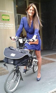 Image result for celebs on bromptons