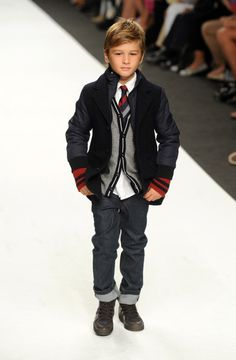 Works on the runway!  Now if only they really wanted to be this stylish in real life :) A mom can dream...