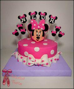 https://flic.kr/p/xiPapg | Minnie Mouse Cake – Mini Maus torta by Balerina Torte…
