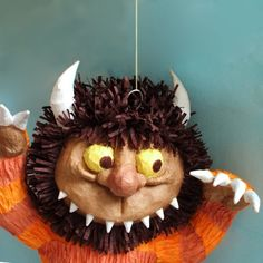 Where the Wild Things Are PINATA by clubschmitz on Etsy. Where was this when I threw Damon his party?