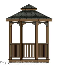 Free Gazebo Plans | How to Build a Gazebo //www.askhomedesign ... on