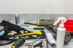 How to Make Clip-in Hair Extensions at Home (Step-by-Step DIY) – SL Raw Virgin Hair LLC. Loose Curly Hair, Natural Wavy Hair, Curly Hair Styles, Natural Hair Styles, Hair Extension Clips, Latest Hair Trends, Hair Scissors, Hair Blog, Hair Weft