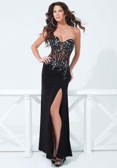 Sexy 2014 Tony Bowls Paris Prom Dress 114736