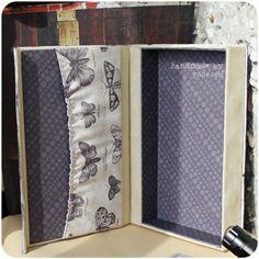 "handmade by julie_elf: Книга-клатч ""Ядерная физика"""